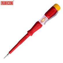Japan RUBICON Elektrische Gereedschappen RVT-211 Test Potlood 220 ~ 250 V LED Spanningstester Pen Diameter 3.0mm Ingelaste VDE goedgekeurd