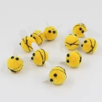 10pcs 20mm pompom plush ball bee soft pompoms for craft diy supplies home decoration garment sewing on cloth accessories