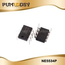 10 pçs ne5534p dip8 ne5534 dip ne5534n ic novo e original frete grátis