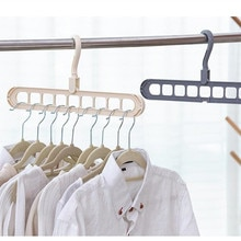 Cintre multifonction pour vêtements   Support dorganisation de rangement pour la maison, porte-vêtements pliable, crochet antidérapant, sèche-vêtements, porte-placard pour garde-robe