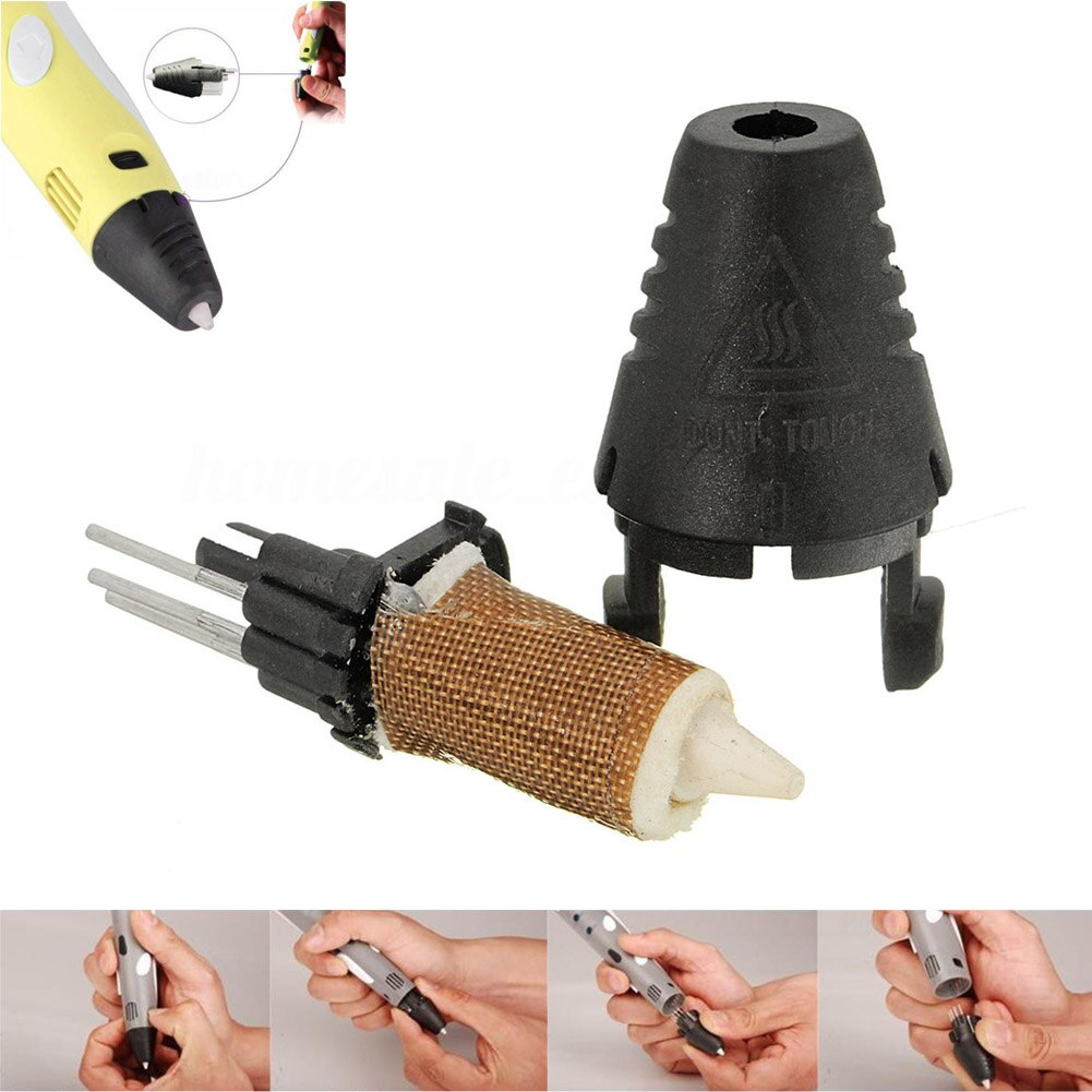 Reemplazo de boquilla extrusor cabezal de impresión para la primera de segunda generación 3D pluma de impresión EM88
