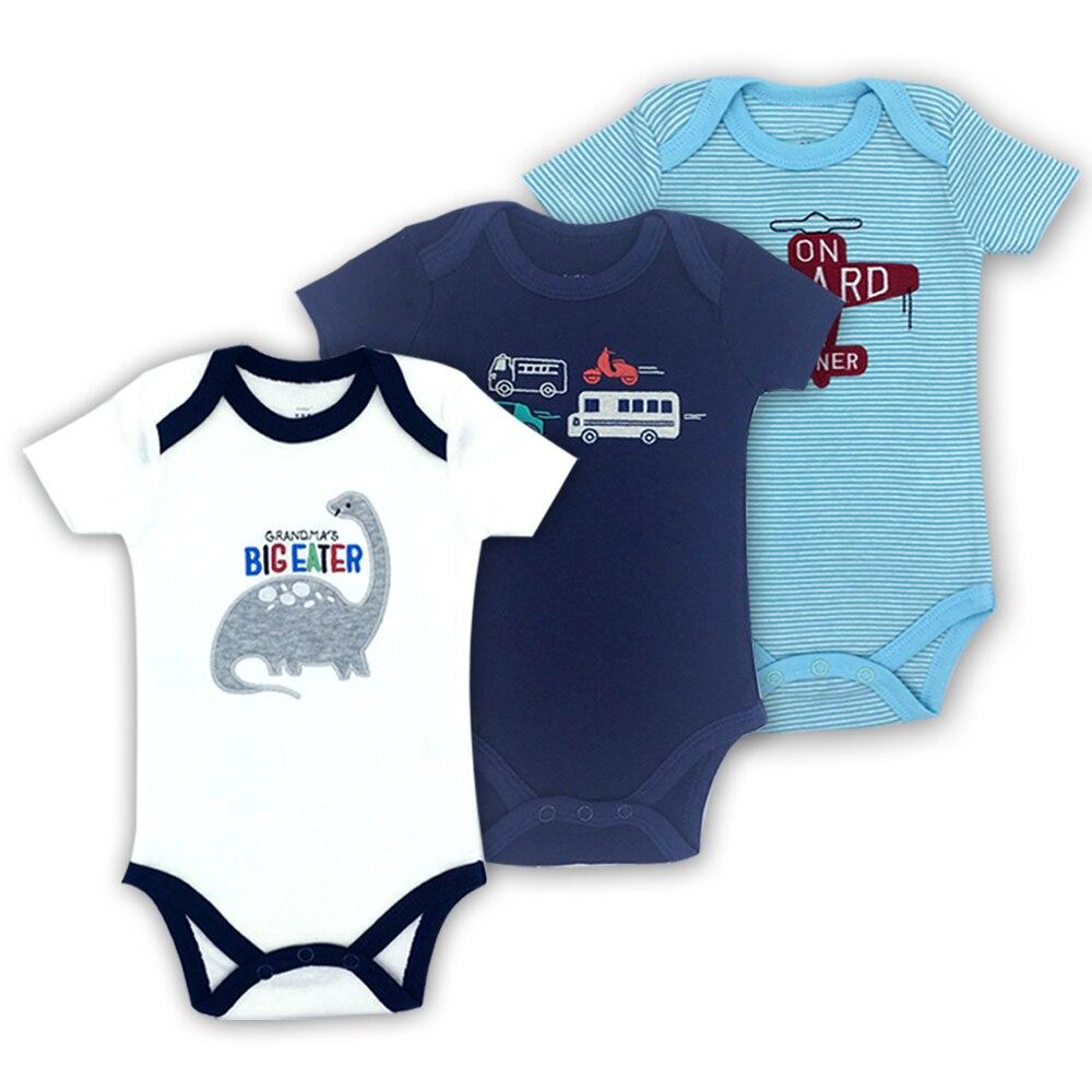 Envío Gratis, Body para bebé, mono de manga corta para bebé, conjunto de ropa de verano de algodón para bebé