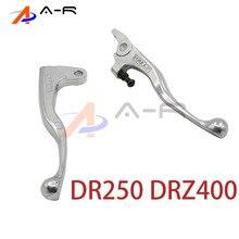 Suzuki DR250 DR250 DRZ400 DRZ 400   Embrayage de moto barre de levier chromée, levier de frein, barre de poignée, 400