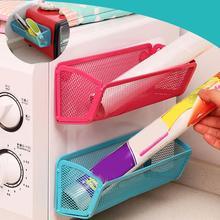 Étagère aimantée pour réfrigérateur   Nouveau support adsorbant, étagère de rangement, organisateur de Gadget de cuisine