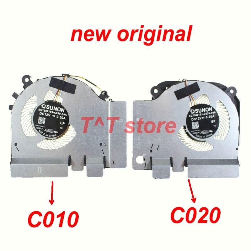 جديد الأصلي EG75071S1-C010-S9A EG75071S1-C020-S9A DC12V التبريد مروحة ل XIAOMI 15.6 لعبة كتاب GTX 1060 اختبار جيد شحن مجاني