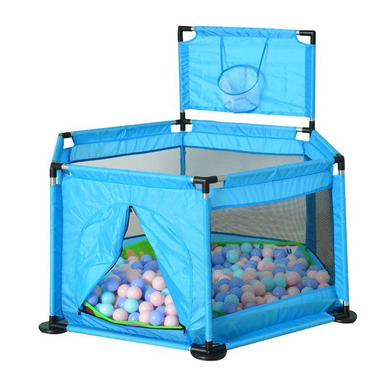 Portable bébé parc jeu clôture enfants activité jouer maison intérieure et extérieure sécurité jeu Yard pour enfants 6 coins Design