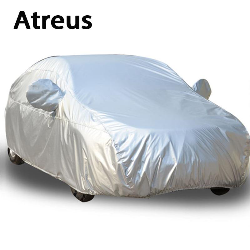 Atreus 1Set for Audi A6 c6 A7 S6 S7 Ford Mondeo Honda Accord Kia K5 K9 Citroen C6 Accessories Sedan XXL Waterproof Car covers