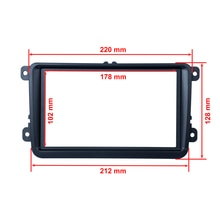 Universal Car DVD Frame / 2 Din Car DVD decorative Frame Retrofitting / DVD enclosure / framework