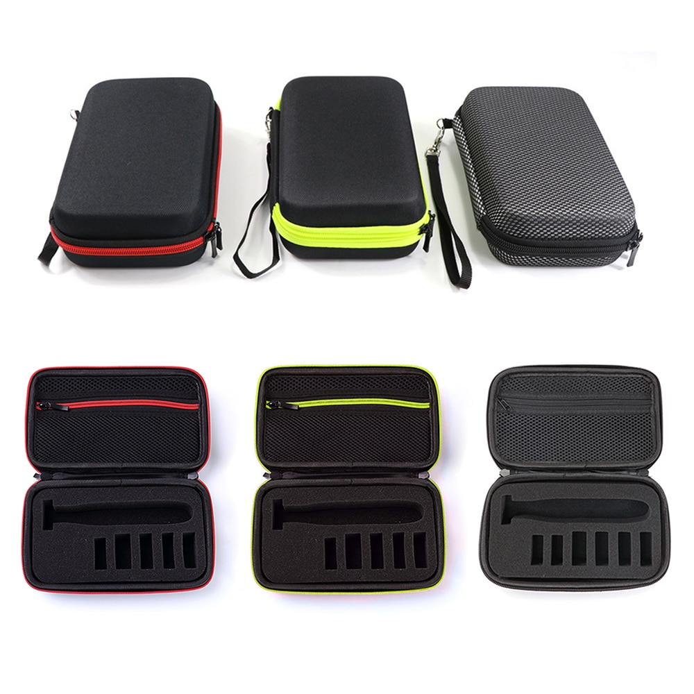 2019 Newest Hard EVA Portable Cover Case for Philips OneBlade MG3750 7100 Shaver and Accessories PU Travel Bags Storage Box enlarge