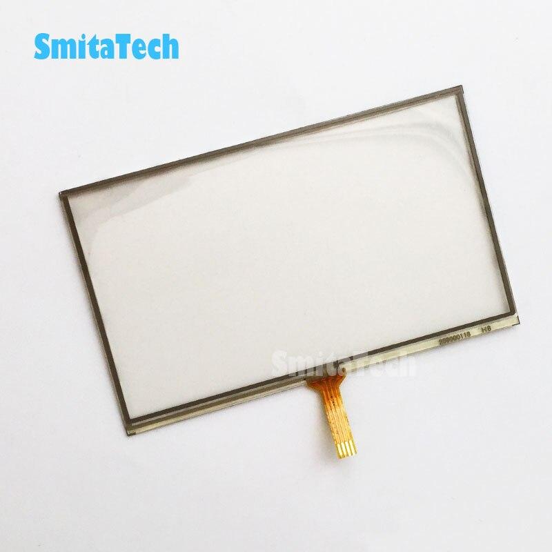 Panel de pantalla táctil de 5 pulgadas 119*74mm para el panel digitalizador de pantalla táctil TomTom start 25 M reemplazo de LMS500HF01/LMS500HF05