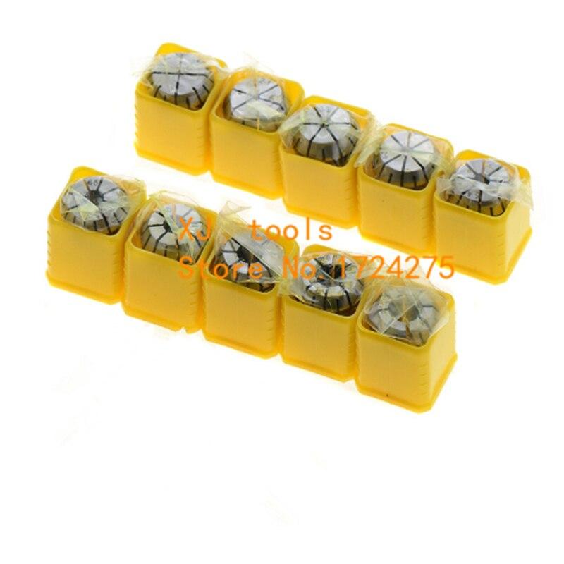 10 pcs/lot ER8 1mm-5mm 1/8