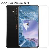 2.5D 0.3mm HD Tempered Glass for nokia X71 Screen Protector Phone Protective Film Not Full Coverage