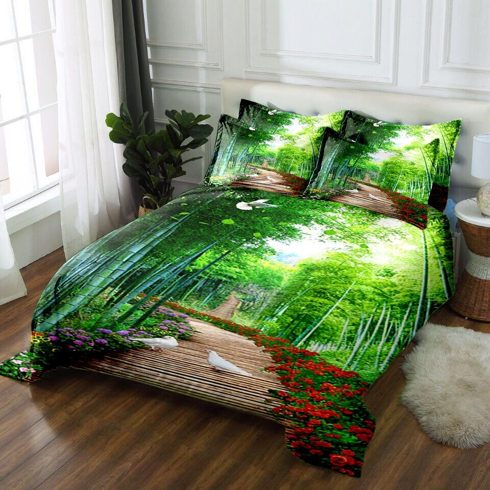 juego de cama edredones 3D Bedding set twin queen California king size Bed/flat Sheet Linen set Duvet Quilt Cover Pillowcase