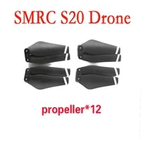 smrc s20 spare parts 4 pcs propeller rc propellers for smrc s20 drone wifi fpv drone rc quadcopter