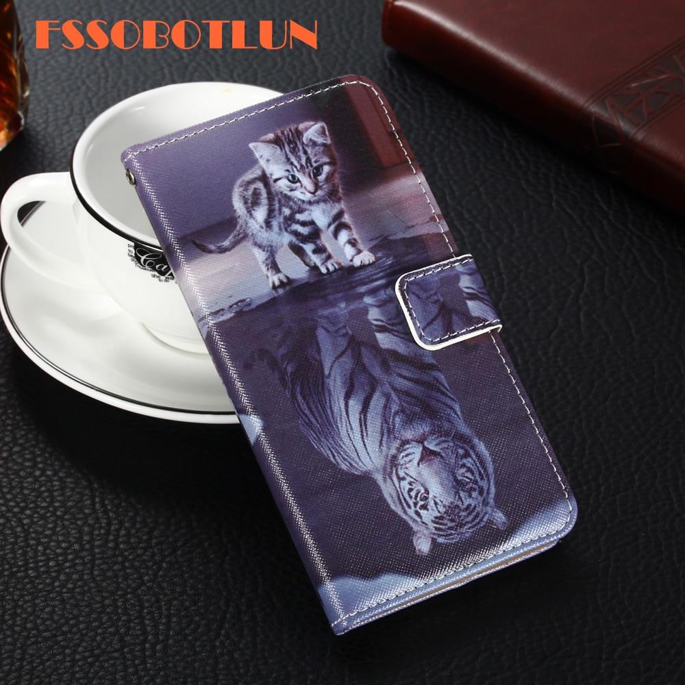 Para Philips S327 S326 S307 S653 X586 S309 S337 S396 S616 S308 S388 S398 PU cuero Retro Flip Cover magnético de moda cartera caso