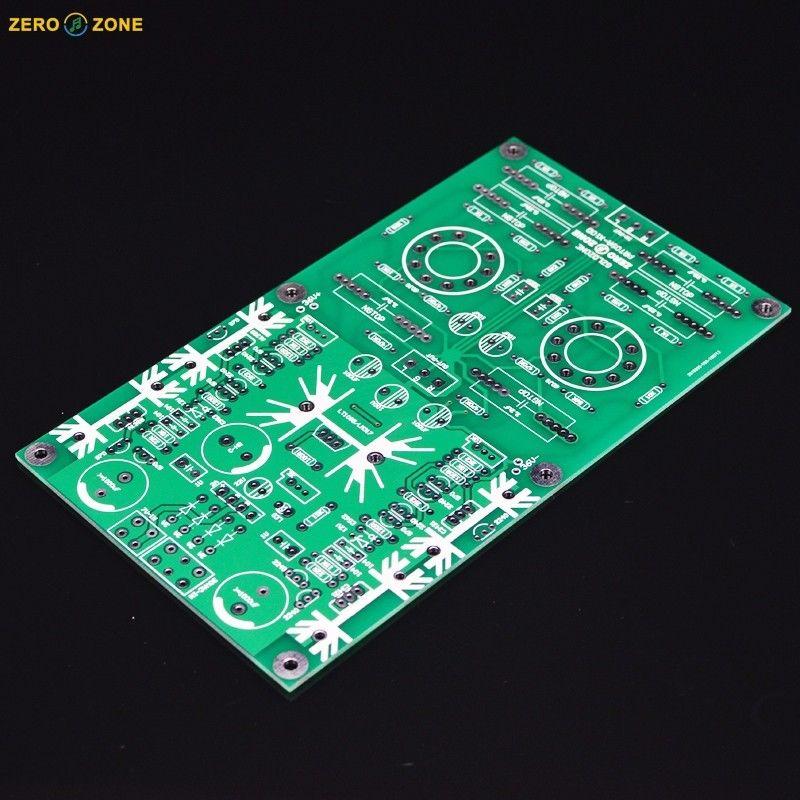 ZEROZONE PRT-09A Hi-end Tube buffer preamp PCB base on Musical Fidelity X-10D L7-57