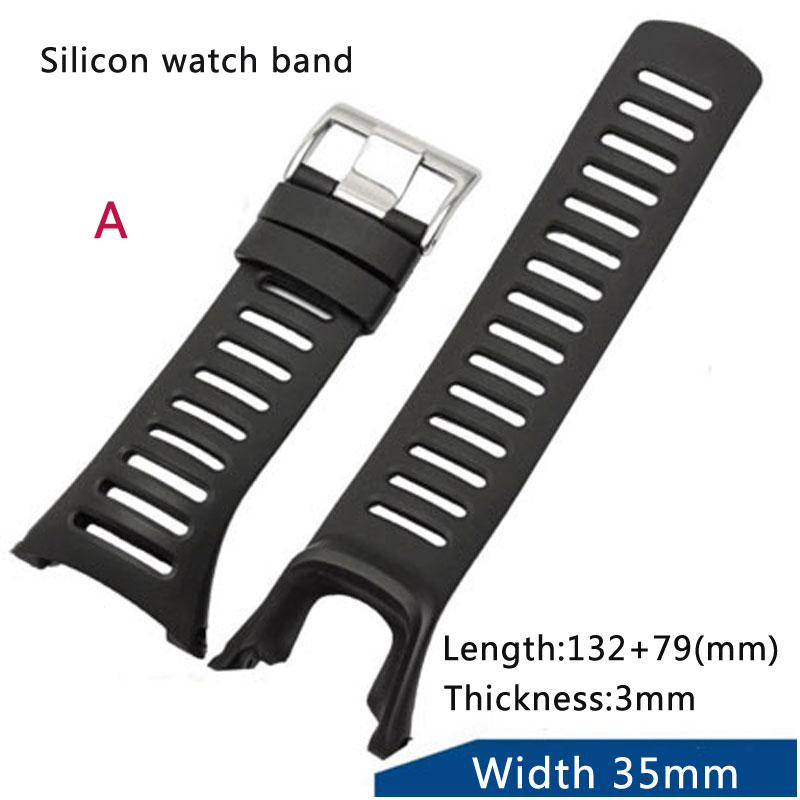 High quality Rubber strap replacement for Song extension SUUNTO extension field AMBIT series 1 2 3 g