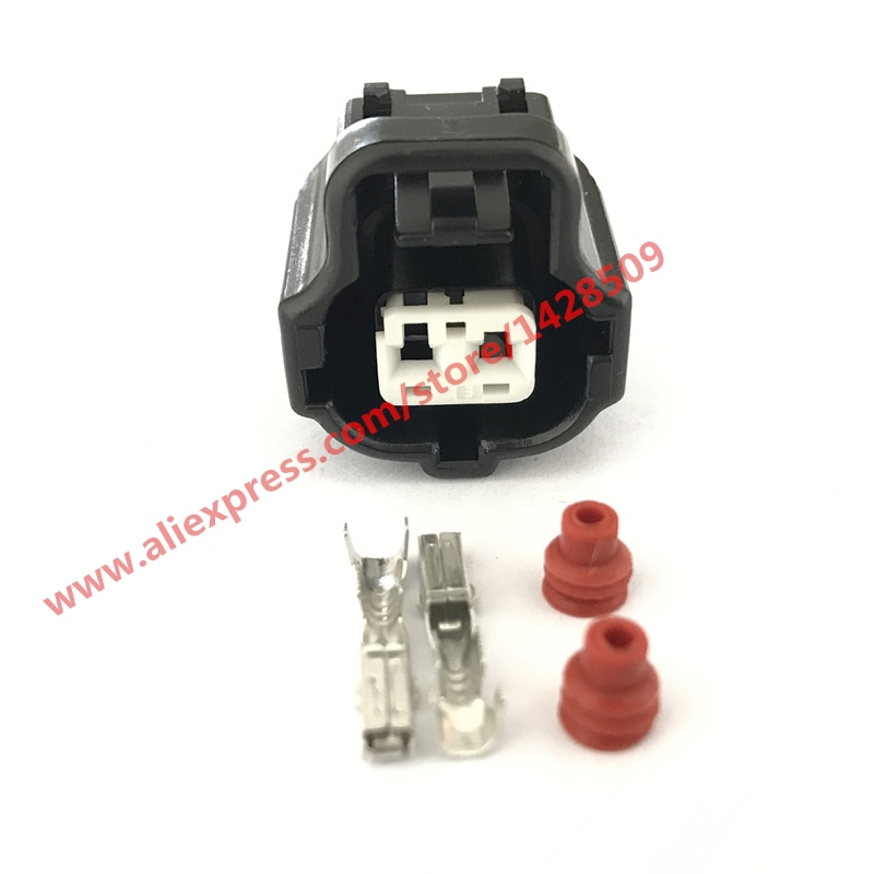 20 Sets 2 Pin 178390-1 de Sensor de temperatura de refrigerante de motor conector 1JZ-2JZ-1UZ-3SGE para Toyota