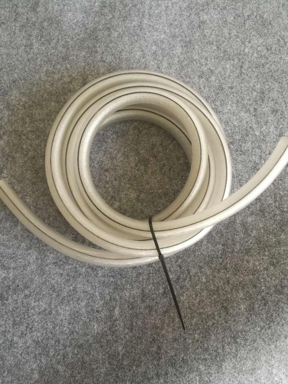 antistatic silicone hose electrostatic resistance house for powder spray gun