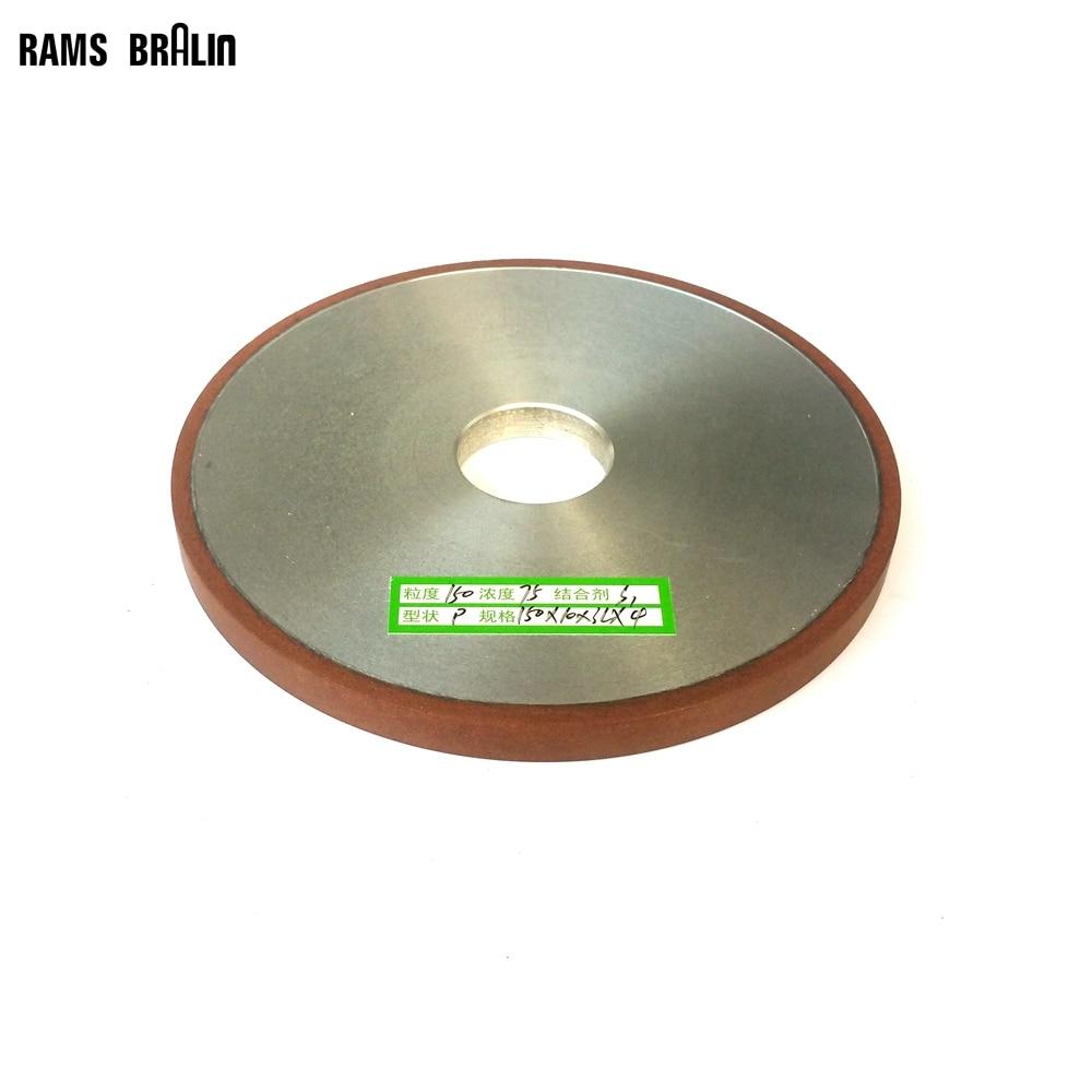 Плоский алмазный абразивный шлифовальный диск 150*10*32*4 мм для сплава стали керамического стекла нефрита CBN шлифовки