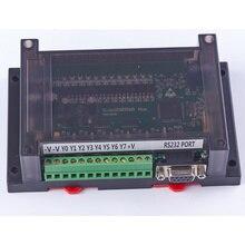 Plc programmable logic controller plc con la recinzione 20MT FX2N 12 di ingresso 8 uscita 0 ~ 10V 2 ad relè regolatore automatico
