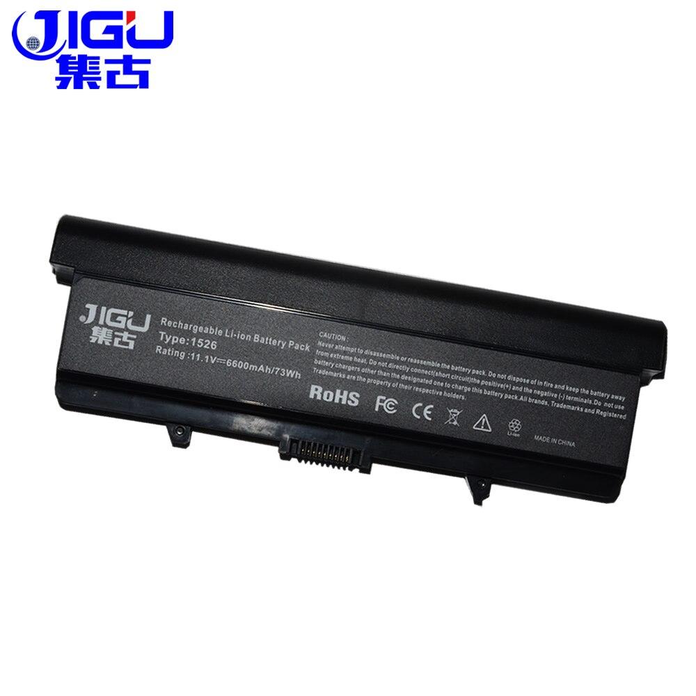 JIGU Аккумулятор для ноутбука Dell для Inspiron 1525 1526 1545 C601H D608H GP952 GW240 M911G RN873 RU586 451-10478 451-10533 X284g