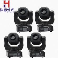 Heißer verkauf hohe helligkeit 60W spot moving head licht bühne dj DMX512 60 watt led mini gobo moving heads 4 teile/los