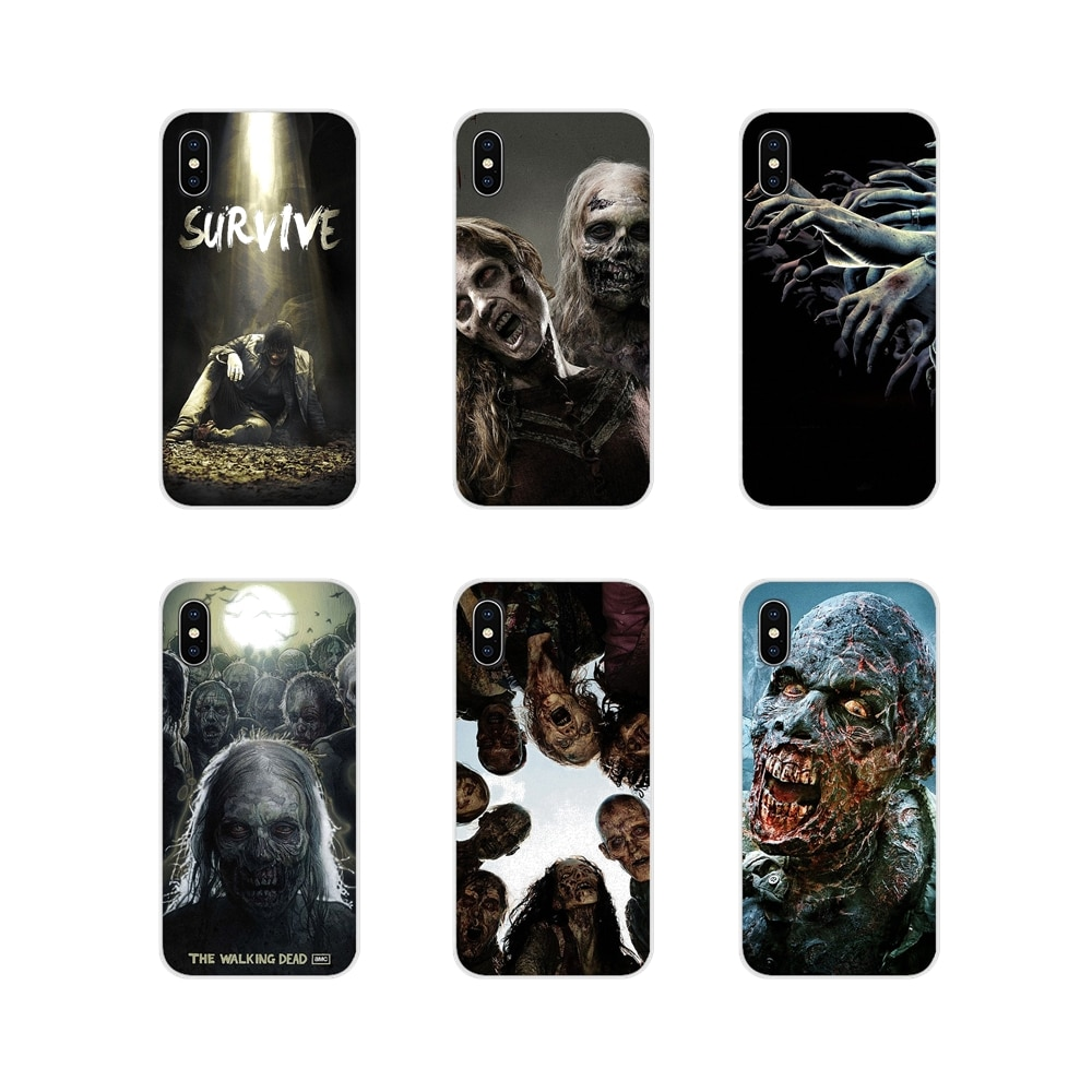 Fundas de teléfono accesorios, fundas de The Walking Dead Zombie para Xiaomi Redmi 4A S2 Note 3 3S 4 4X 5 Plus 6 7 6A Pro Pocophone F1