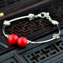 Yunnan estilo popular retro pequeno atacado nepal feminino miao prata tibetano prata moda jóias pulseira sl021