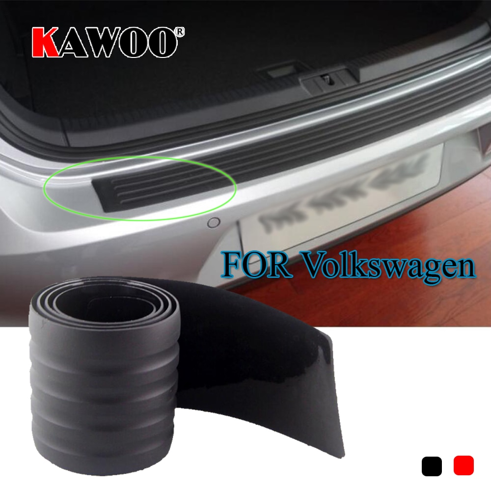 KAWOO для VW Passat B6 B7 Golf MK4 MK5 MK6 тигуан Жук Sharan, резиновая защитная накладка на бампер, подушка для подоконника, тюнинг автомобиля