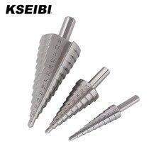 KSEIBI 571195-571257 Hohe Qualität HSS M2 Schritt Bohrer Industrie Grade Für Blatt Metall Bohren