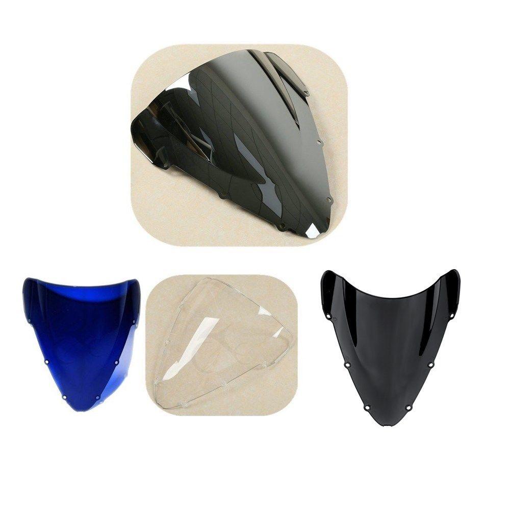 La motocicleta de doble burbuja parabrisas para Honda CBR 600 F4I 01-08 02 03 04 05 06