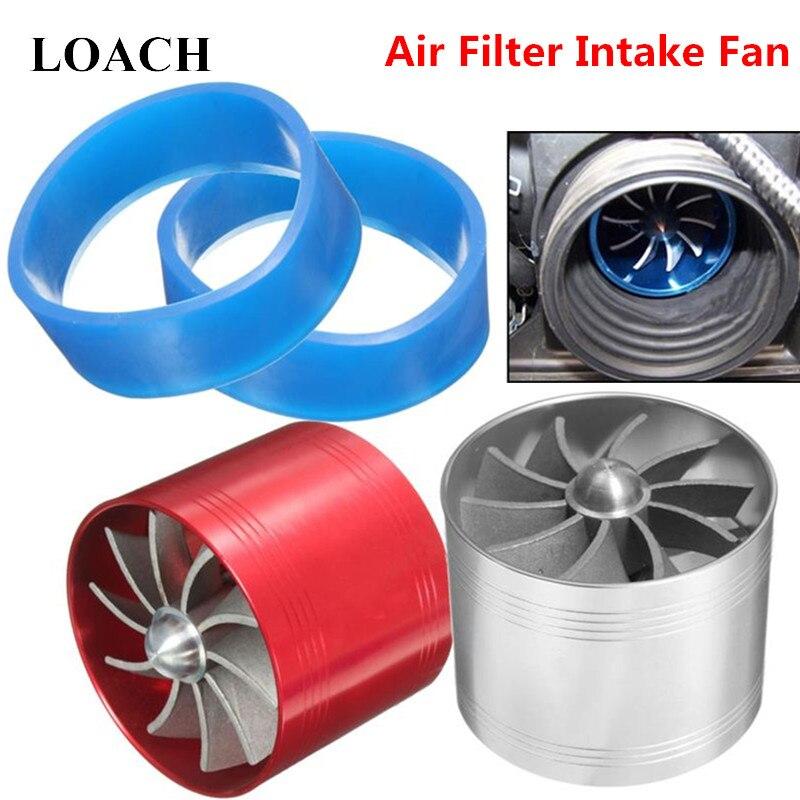 Универсальный 64,5 мм x 50 мм автомобильный воздушный фильтр Впускной вентилятор экономайзер газового топлива супер зарядное устройство для турбины турбо зарядное устройство для автомобиля-Стайлинг