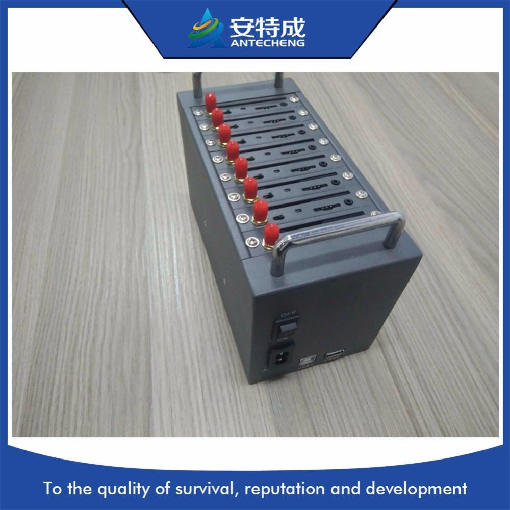 8 ports 3G modem pool sim5360e mini bulk voice sending machine by ATC factory
