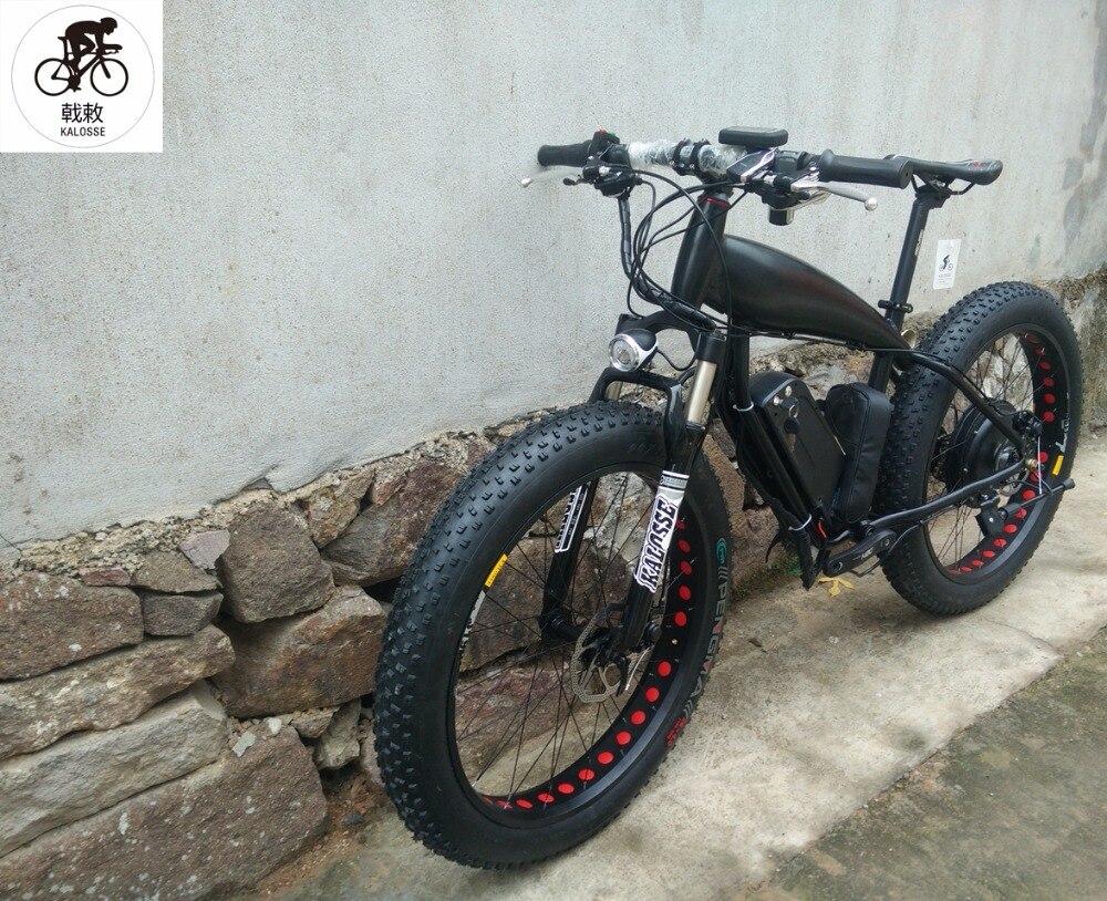 Kalosse 27 speed M390  48V 1000W  26*4.0 tires  Beach bicycle   electrical snow bike    electric  fat  bike