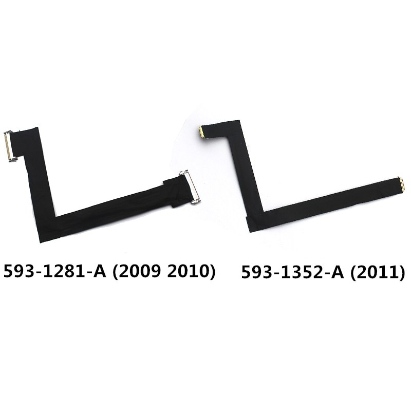 "A1312 593-1281-A 593-1352-A Display LCD Video Cabo Para iMac 27 ""A1312 2009 2010 2011 Tela LCD Flex Cable Para iMac A1312"