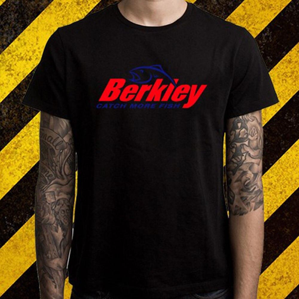 ¡Novedad! Camiseta negra con Logo de Berkley de Spinners Crankbaits para hombre, tallas S a 2XL, Camiseta estampada de algodón de alta calidad