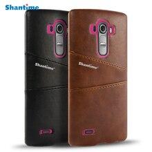 Pu Leather Cover Voor LG G3 G4 G3 Beat G4 Beat Wallet Case Voor LG G4 Note Visitekaartje slots Telefoon Bag Case