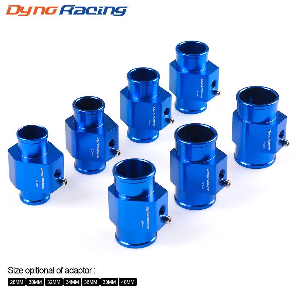 Dynoracing Water Temp Gauge Radiator Temperature Water Temp Joint Pipe Sensor 40mm 38mm 36mm 34mm 32mm 30mm 28mm Hose Adapter