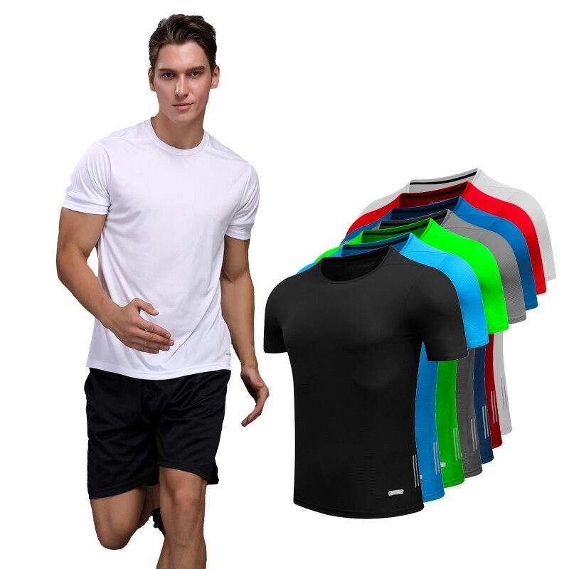 Camiseta de hombre para correr y hombre, camisetas de diseño de secado rápido, camisetas ajustadas para correr, camisetas deportivas para hombre, camisetas deportivas para gimnasio, camisetas musculares 2018