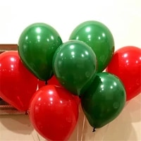 50 pcs latex helium round balloons christmas balloon 122 8g thick pearl green red wedding balloons party christmas decoration