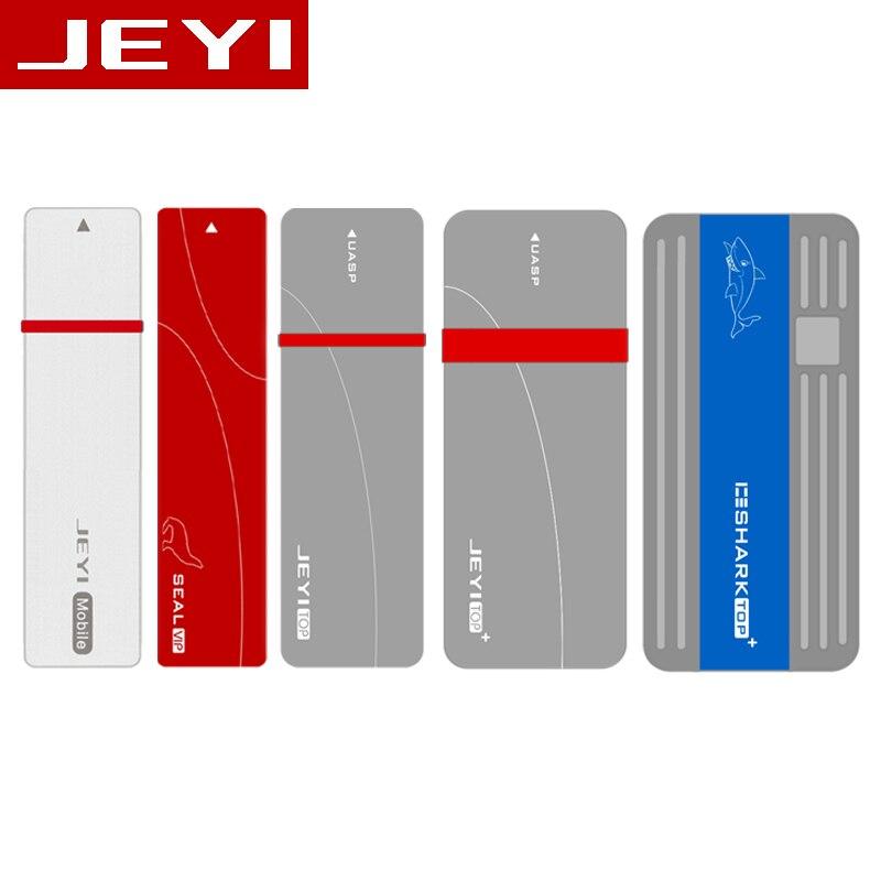 Carcasa móvil HDD JEYI i9 Funda de disco duro m.2 NVME tipo aluminio C3.1 JMS583 m.2 USB3.1 M.2 PCIE SSD U.2 PCI-E TYPEC