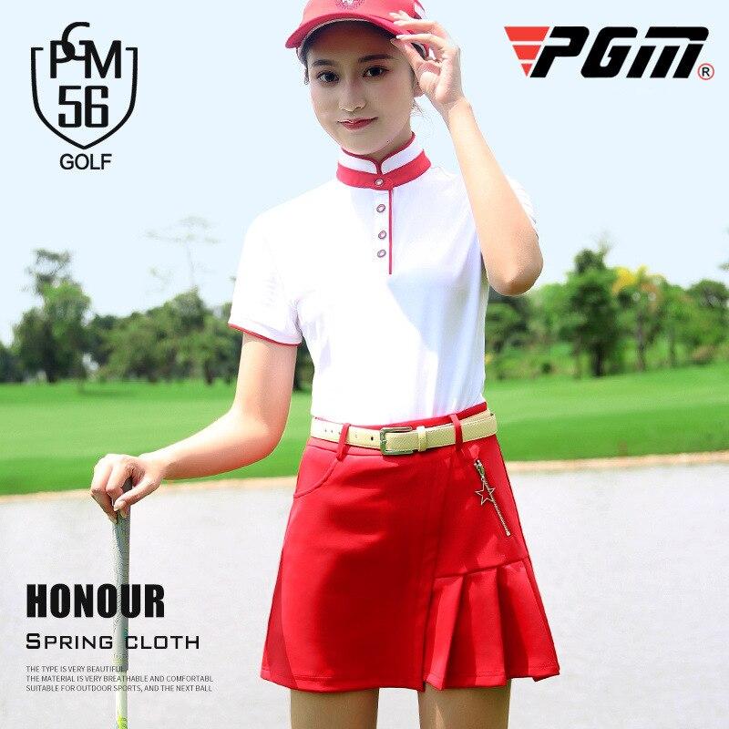 بدلة رياضية نسائية للجولف ، قميص بأكمام قصيرة وتنورة صيفية ، سريع الجفاف ، ملابس رياضية لتنس الجولف ، مجموعة 2020 ، AA60488