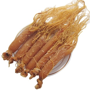 red ginseng 100g 12 years old panax ginseng root average weight 25-35g/root for the beauty and body