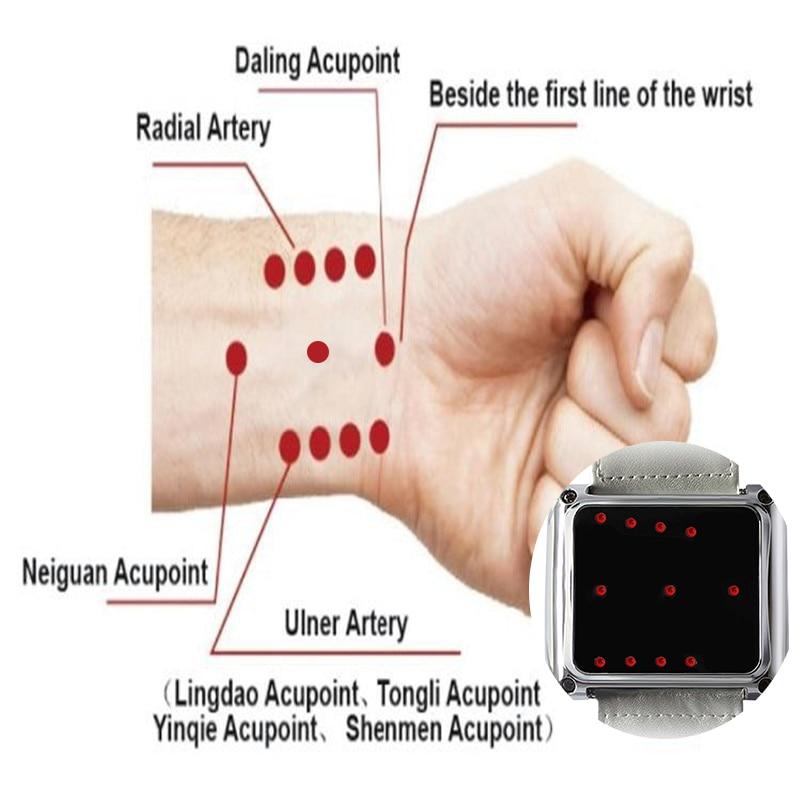 ساعة يد طبية ، علاج بالليزر البارد ، ضغط مرتفع ، ليزر لمرضى السكر ، يقلل الضغط المنخفض ، الدهون في الدم ، تحسين ضغط الدم