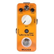 MOOER Ultra Drive MKII Guitar Effect Pedal Distortion Guitar Pedal 3 Modes True Bypass Full Metal Shell Guitar Acccessories