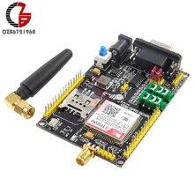DC6-24V SIM800 GSM GPRS Module STM32 SIM900A carte de mise à niveau Support de Module GPS 3.3V / 5V TTL pour 51 STM32 haute Performance