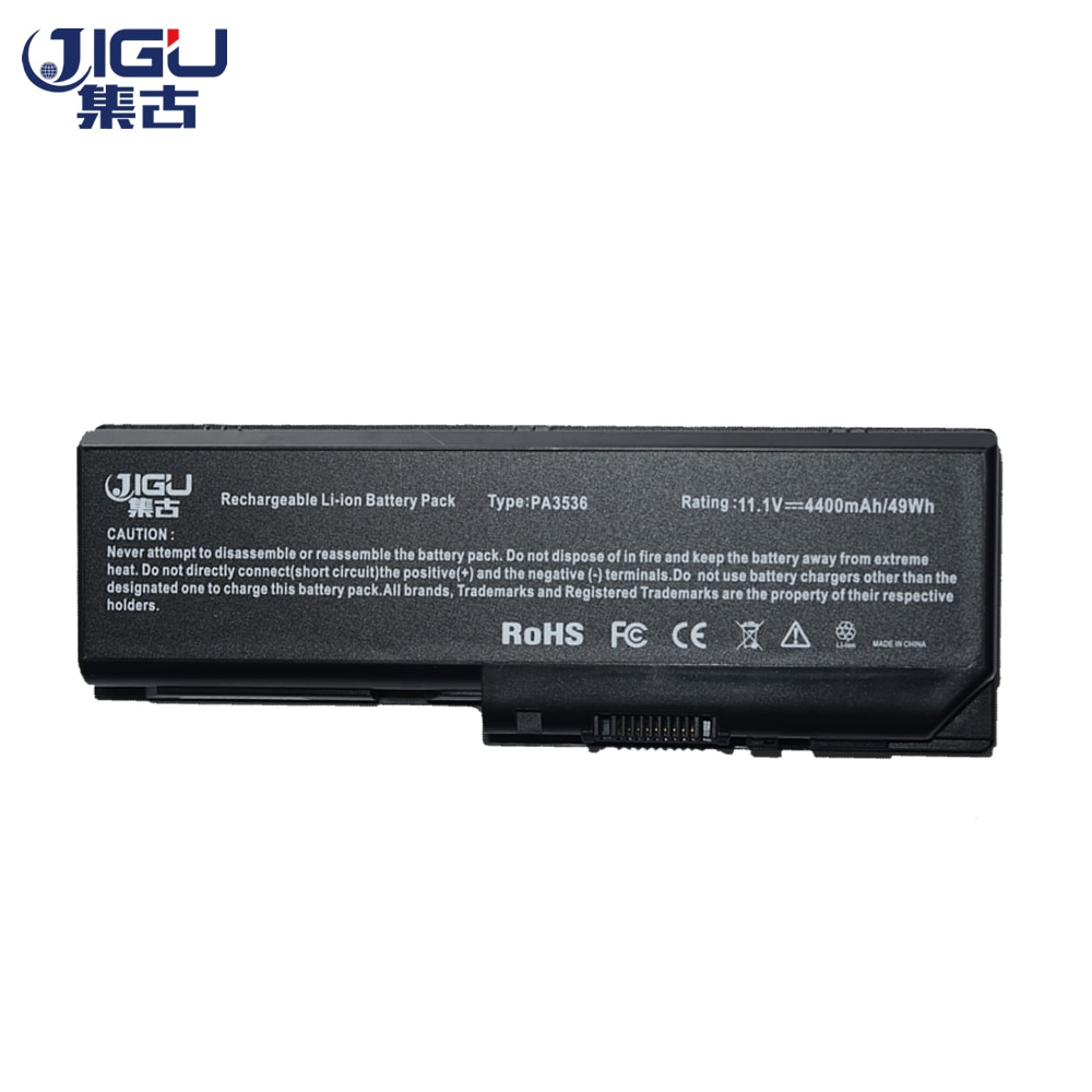 Bateria Do Portátil Para Toshiba PA3536U1BAS JIGU PA3536U1BRS PA3536U PA3536U-1BAS PA3537 PA3537U PA3537U-1BAS
