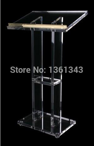 Acrílico pódio/Simples transparente pódio acrílico púlpito/. acrílico pódio púlpito púlpito. pódio acrílico