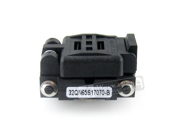 Platonics 32QN65S17070 IC adaptador de enchufe de prueba de encendido 0,65mm paso QFN32 MLP32 MLF32 paquete envío gratis